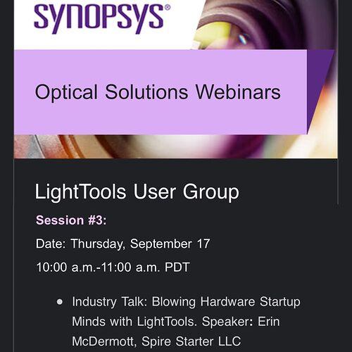 LightToolsPresentationAnnouncement-2020
